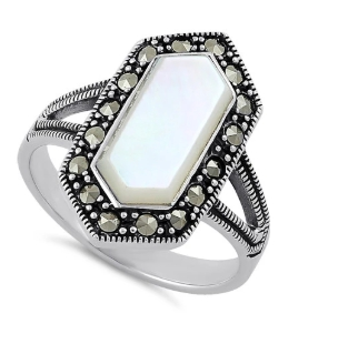 What Is A Sterling Silver Marcasite Ring003